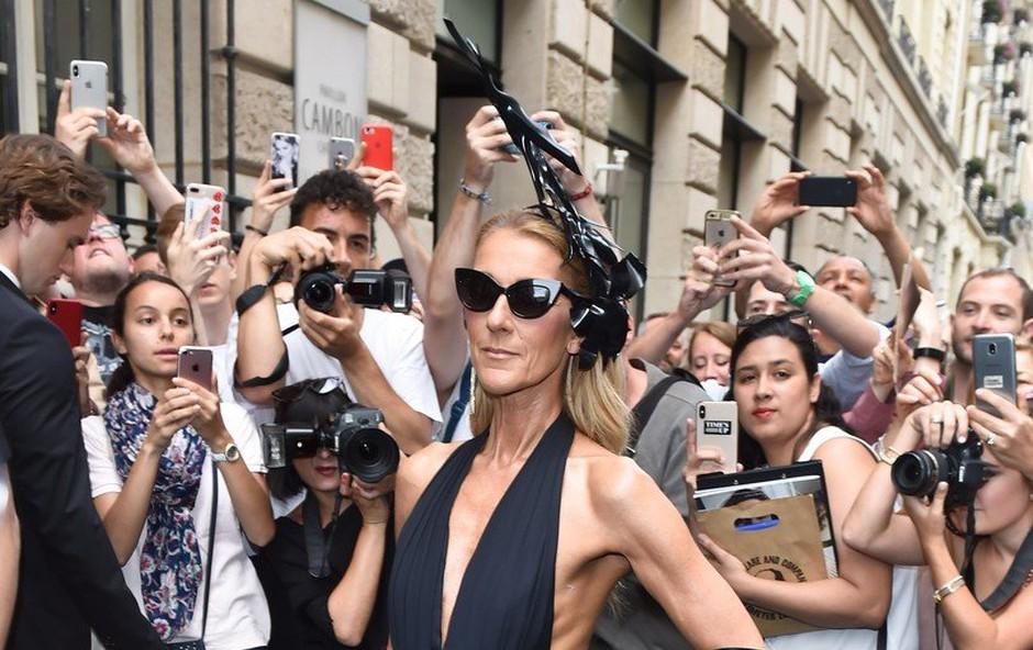 Pretirano suha Celine Dion zopet povzroča skrb oboževalcem (foto: Profimedia)