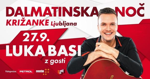 Luka Basi prvič v Križankah (foto: Luka Basi Press)