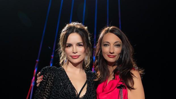 Priljubljena Severina  in voditeljica Vesna  Milek. (foto: Adrian Pregelj)