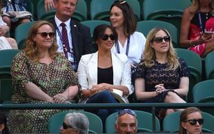 Meghan spet presenetila - nihče je ni pričakoval v Wimbledonu!