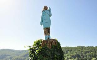 V svetovnih medijih so se razpisali o kipu Melanie Trump v Sevnici