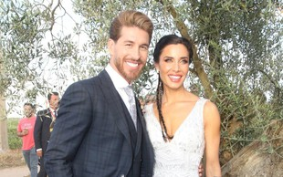Sergio Ramos: Poroka leta v Španiji