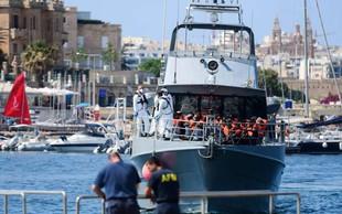 Malteška vlada dovolila izkrcanje vseh migrantov z ladje Alan Kurdi