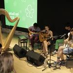 Energijo so dvignili tudi mladi glasbeniki iz Kisovca, zasedba Koala Voice. (foto: Aleksandra Sasa Prelesnik)
