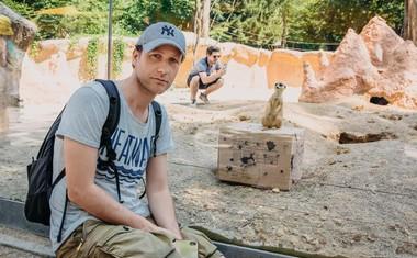 Levji kralj v ZOO Ljubljana: igralci obiskali prave živali!