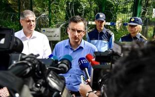 Šarec zagotovil, da Slovenija ne bo postala žep za migrante