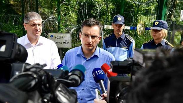 Šarec zagotovil, da Slovenija ne bo postala žep za migrante (foto: STA/Nebojša Tejić)