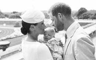 Mali Archie je barvo las podedoval po očetu, princu Harryju