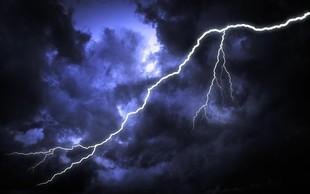 Zvečer in ponoči v jugozahodnem delu države možne močnejše nevihte