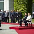 Angela Merkel med sprejemom danske premierke tokrat sedela