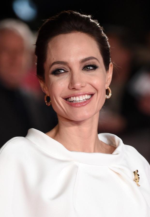 Angelina Jolie je osupnila v elegantni obleki in njenih najljubših sandalih (foto: Profimedia)