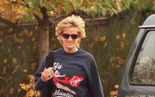 Je to najdražja športna majica? Nosila jo je princesa Diana!