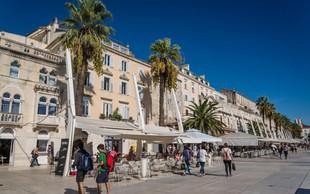 Split: V krvavi noči moški z nožem pred lokalom ranil štiri osebe