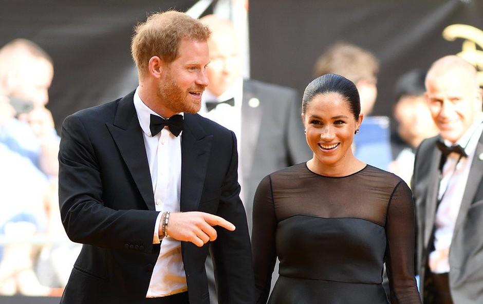 Meghan in princ Harry skrbno varujeta svojo zasebnost - ne izdata lokacije medenih tednov (foto: Profimedia)