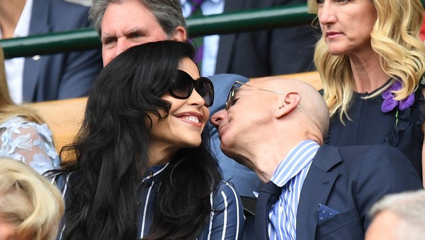 Jeff Bezos na Wimbledonu z dekletom, ki ga je stalo milijone! (foto: Profimedia)