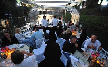 Kulinarična plovba po Ljubljanici