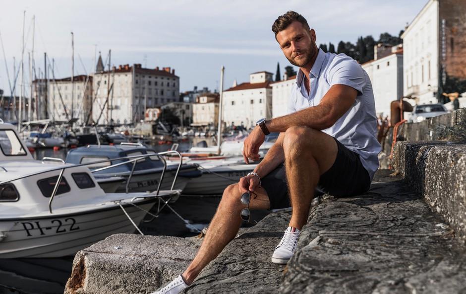 Najlepši Slovenec, Simon Blaževič, ima na naši obali svoj skriti kotiček (foto: Osebni album)