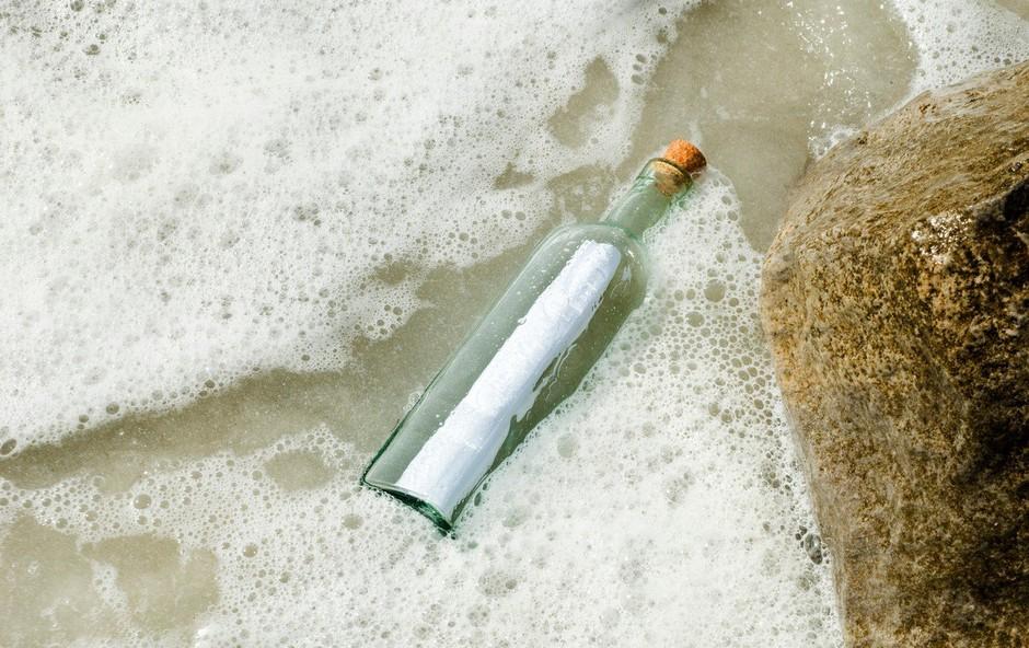 Na Aljaski odkrili sporočilo v steklenici, ki je staro 50 let! (foto: Profimedia)