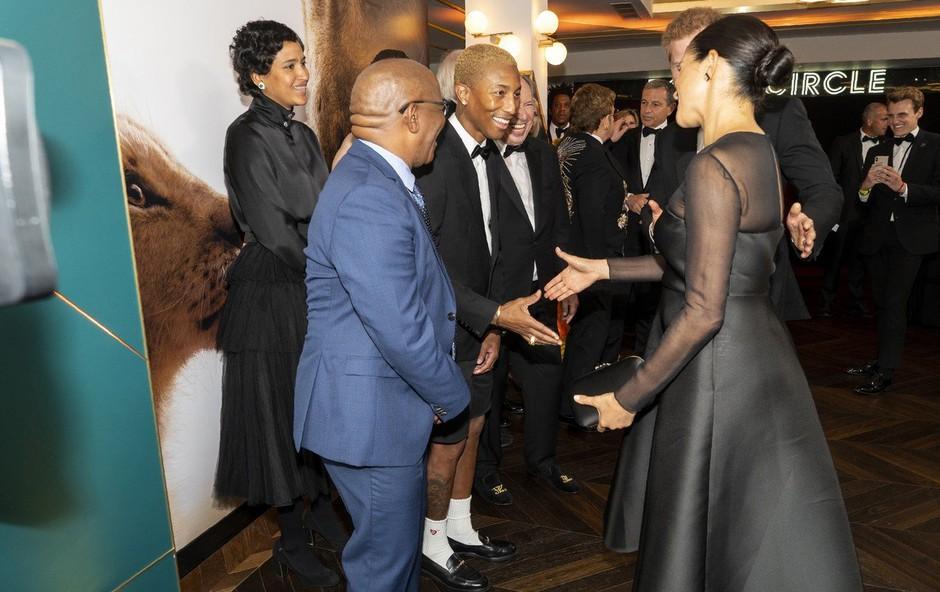 """Meghan je potarnala Pharrellu: """"Mediji nama otežujejo življenje"""" (foto: Profimedia)"""