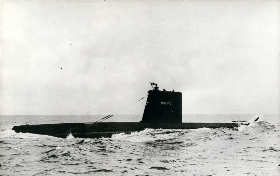 V Sredozemlju so po 50 letih našli izginulo francosko podmornico (foto: Profimedia)