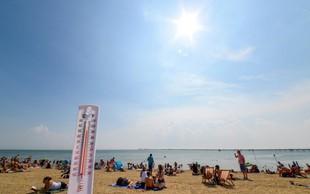 Letošnji julij globalno najbolj vroč, potrjujejo znanstveniki