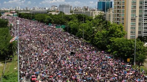 Portoričani na največjih protikorupcijskih protestih v zadnjih 15 letih