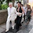 Seksi (kmalu) 50-letnice: Catherine Zeta Jones z globokim dekoltejem!