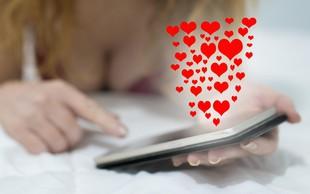 Trend iskanja ljubezni preko spleta zajel tudi našo deželo