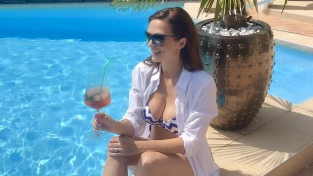 Lepa Natalija Verboten pokazala, kaj jo je nadvse razveselilo (foto: Osebni album)