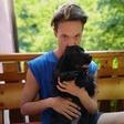 Luka Markus Štajer rad čofota v Soči, saj je ta, kot pravi, brez klora