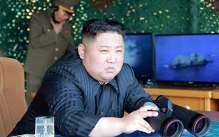 Kim Jong-un znova kaže svojo moč