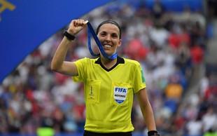 Stephanie Frappart bo prva ženska, ki ji je Uefa zaupala sojenje superpokala