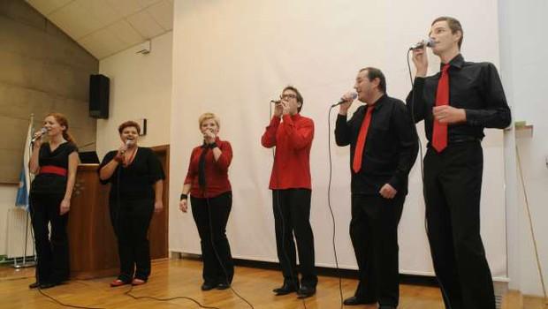 Na drugem tekmovanju za Evrovizijski zbor leta bo Slovenijo zastopal Jazzva (foto: STA/Nebojša Tejić)