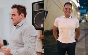 Žiga Lakner v dveh letih izgubil dobrih 37 kilogramov