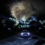 Zvezda večera je bil popolnoma električen audi e-tron. (foto: Foto: Mediaspeed)