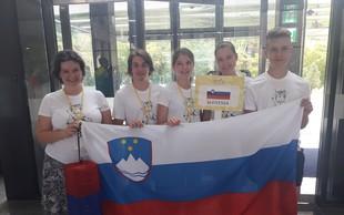 Ekipa slovenskih dijakov na mednarodni lingvistični olimpijadi osvojila zlato!