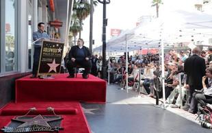 Guillermo del Toro z zvezdo na hollywoodskem Pločniku slavnih