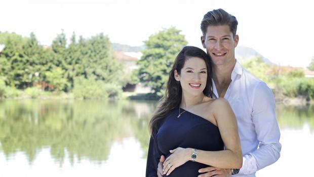 Miha Vodičar bo kmalu zibal, saj z ženo Kristino pričakujeta fantka (foto: Foto: Aleksandra Saša Prelesnik)