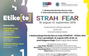 1. Mednarodni bienale likovne vizije  STRAH /FEAR