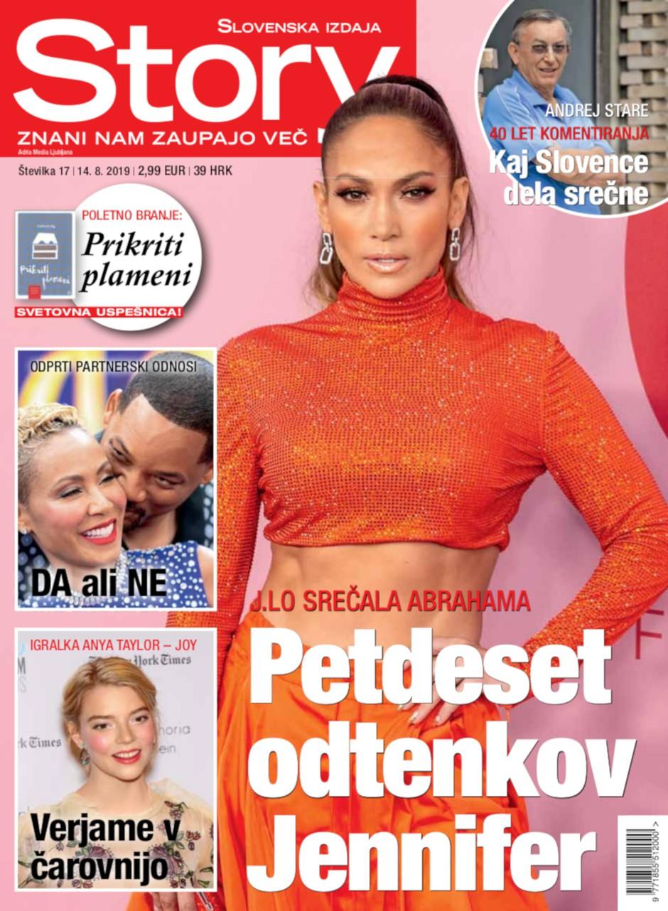 J.Lo srečala abrahama: Petdeset odtenkov Jennifer (foto: story)