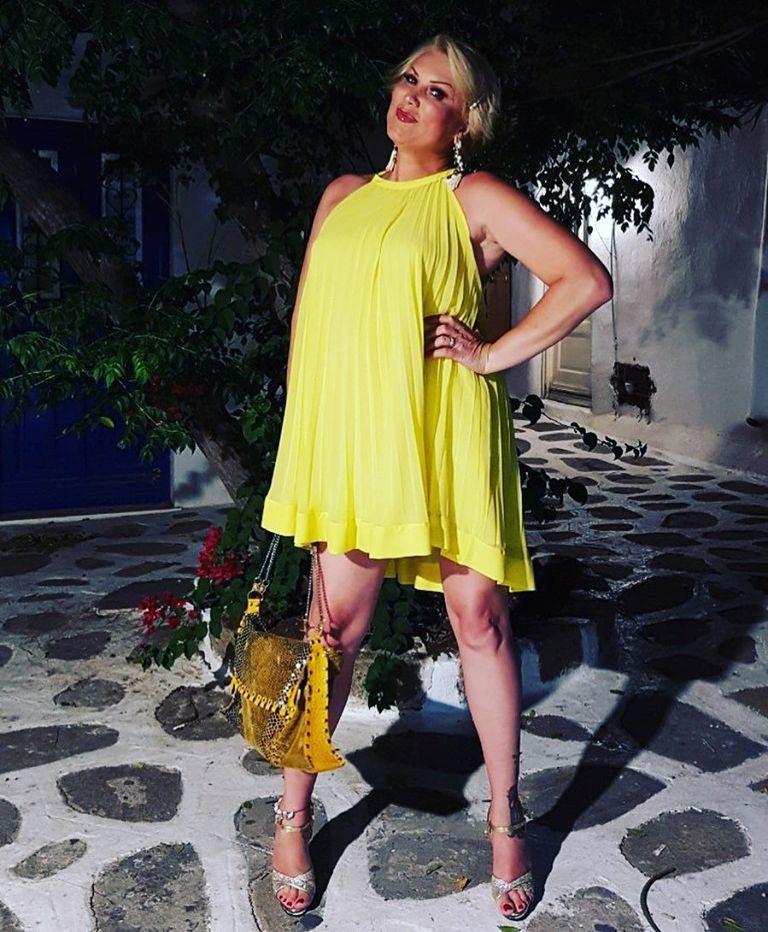 Salomé z dieto 8/16 v enem mesecu shujšala 6 kilogramov (foto: Facebook Salome Queen)