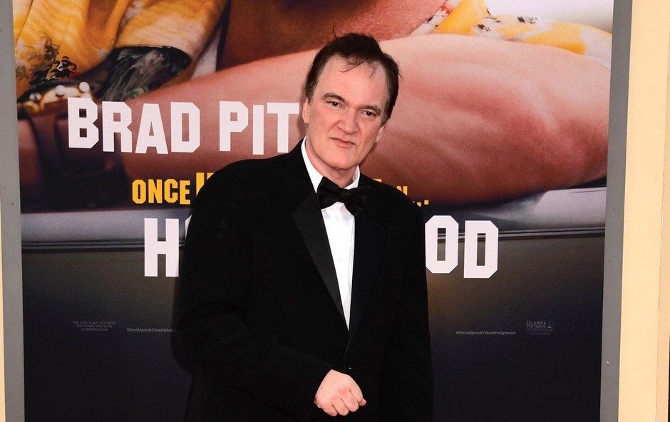Quentin Tarantino, ponosen na svojo filmsko stvaritev. (foto: Foto: Profimedia Profimedia, Press Association)