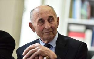 Poslovil se je prvi predsednik Slovenske kmečke zveze Ivan Oman