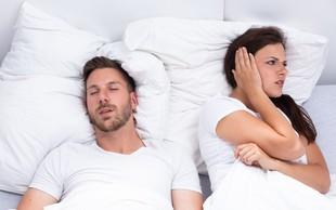 8 na videz nenavadnih razlogov za smrčanje