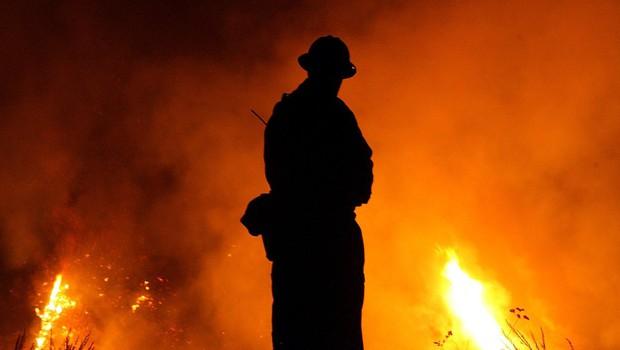 Požar v Šentjanžu pri Dravogradu podtaknjen (foto: Profimedia)