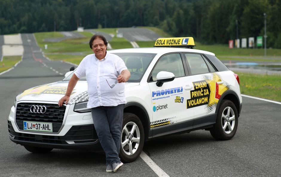 Oto Pestner že 25 let ni sedel za volan; čaka ga povsem nov izziv (foto: Planet TV)
