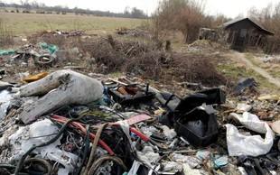 Zagreb se sooča s težavami zaradi divjih odlagališč odpadkov