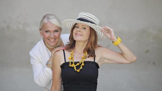 Simona Vodopivec in Alenka Godec: Slovo bo čustveno (foto: Foto: Aleksandra Saša Prelesnik)