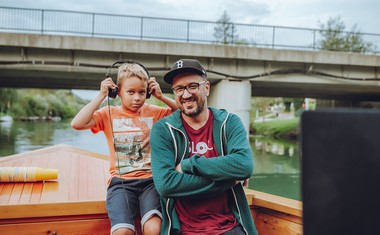 #FUKSi warm up: Sladica Boat Party - Ogrevanje z urbanimi akterji
