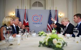 Voditelji sedmih najbolj razvitih držav bodo razpravljali predvsem o trgovinski vojni